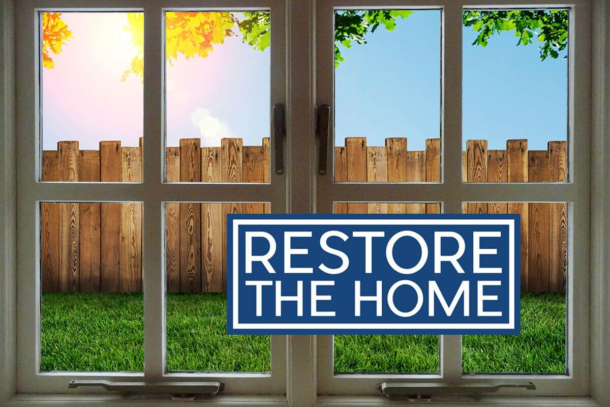 Restore the home the blessing with brian stone september for Restoration house