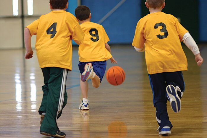 Valley View Recreation Basketball Leagues for 4 to 11 year olds.